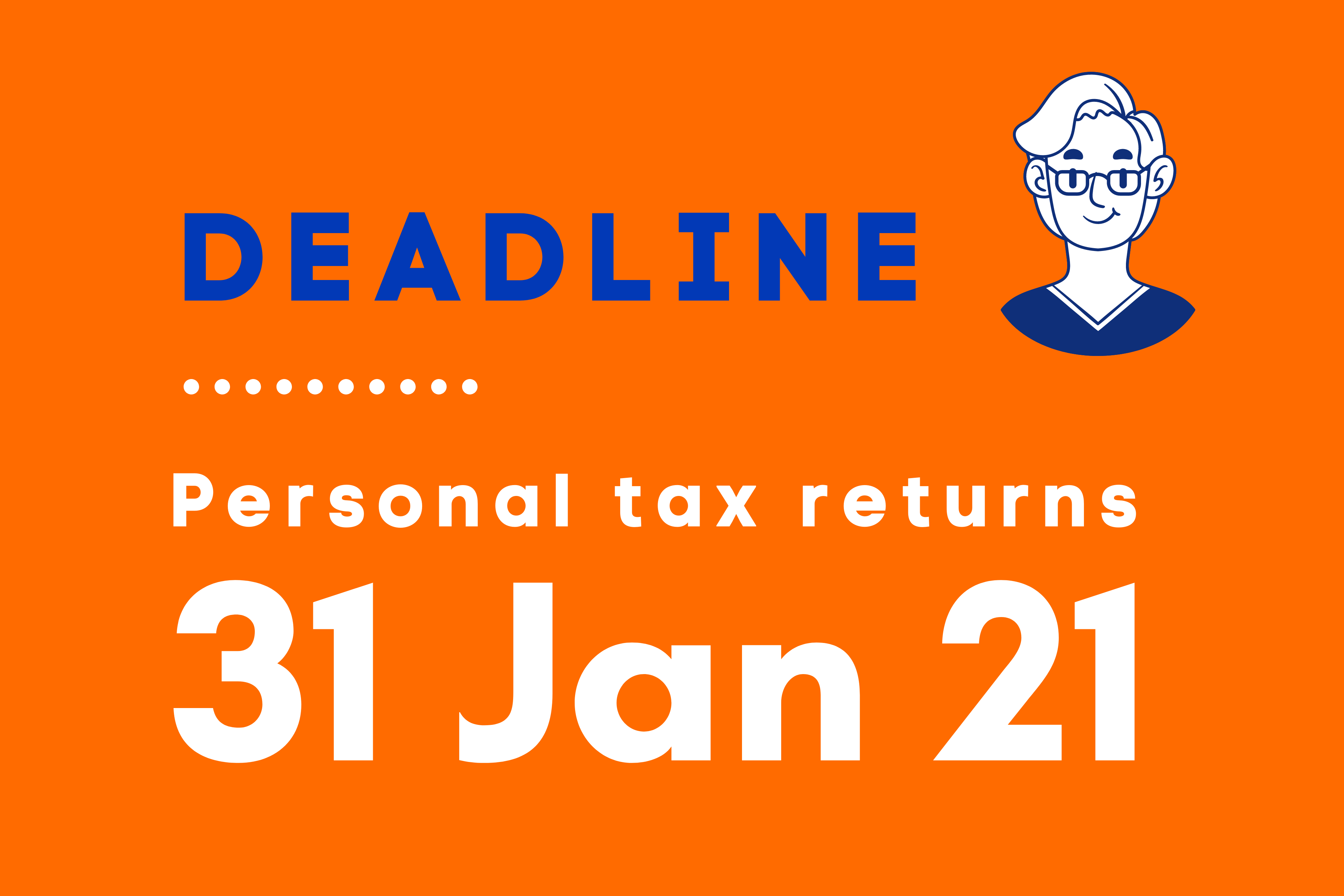 Personal Tax returns deadline